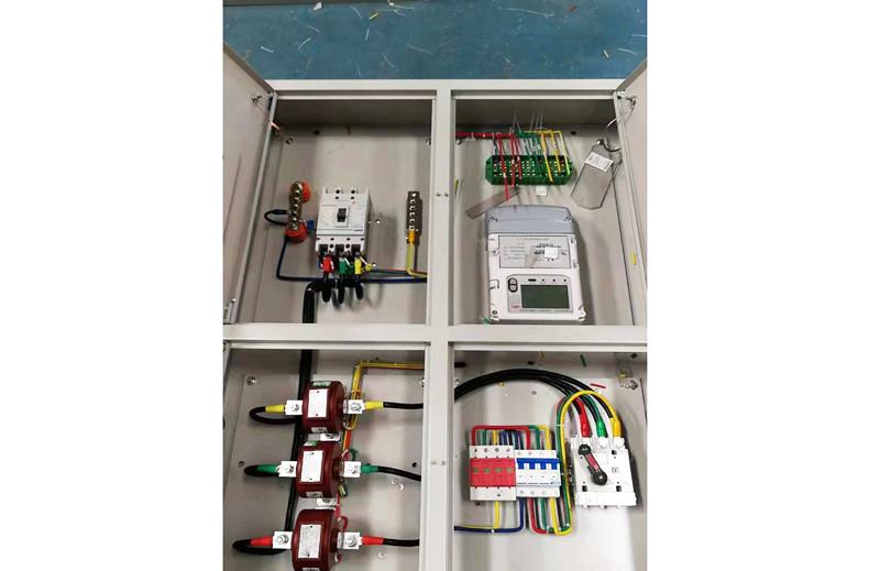 金属单相电表箱